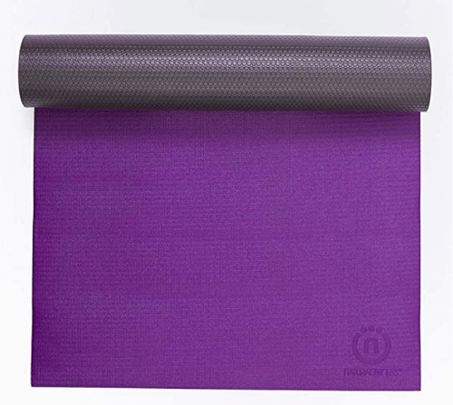 Natural Fitness Premium Warrior Yoga Mat Made from Polymer Environmental Resin with No Harmful Phthalates or Heavy Metals 2