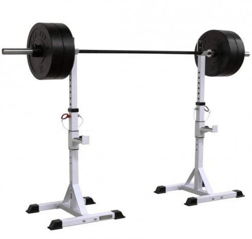 CFF Independent Squat Stands with a 750 lb capacity