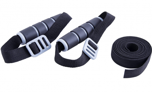 CAP Barbell Elastic Resistant Band with Handles DETAIL