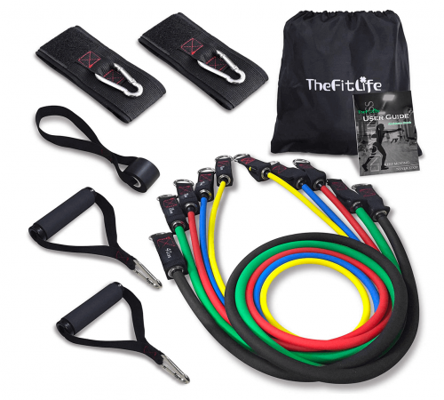 TheFitLife Exercise Resistance Bands with Handles