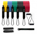 Fitness Insanity Resistance Bands Set - 5-Piece Exercise Bands
