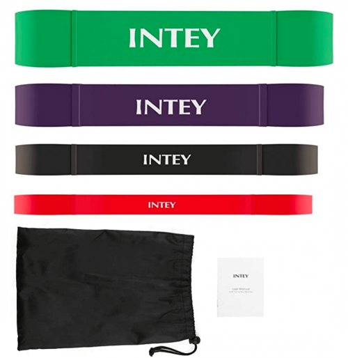 INTEY Pull up Assist Band Exercise Resistance Bands accessories