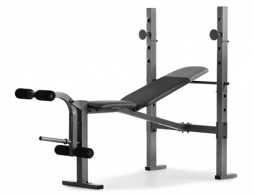 Weider XR 6.1 Multi-Position Weight Bench with Leg Developer and Exercise Chart