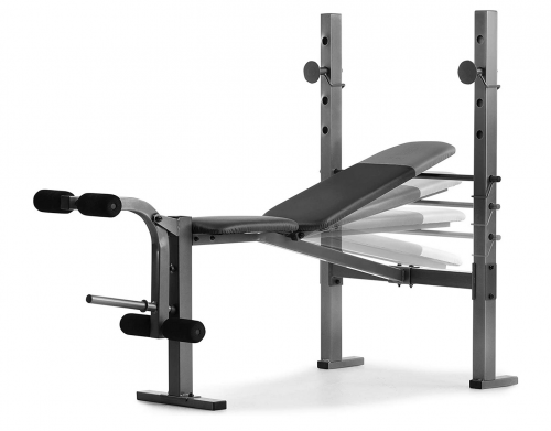 Weider XR 6.1 Multi-Position Weight Bench with Leg Developer and Exercise Chart 2