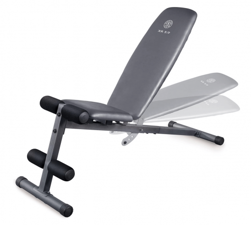 Gold's Gym XR 5.9 Weight Bench Detail