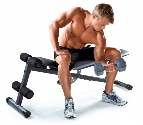 Gold's Gym XR 5.9 Weight Bench Display
