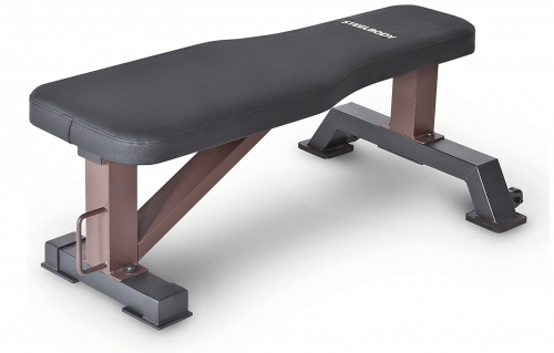 Steelbody Deluxe Versatile Rated 800 lbs Flat Utility Workout Bench