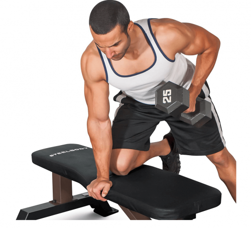 Steelbody Deluxe Versatile Rated 800 lbs Flat Utility Workout Bench 2