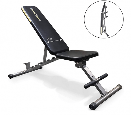 Fitness Reality 1000 Super Max Weight Bench with Upgraded Wider Backrest/Seat