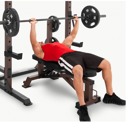 Steelbody Deluxe 6 Position Utility Weight Bench detail