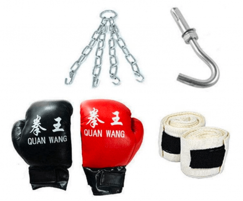 888Warehouse Heavy Boxing Punching Bagn accessories