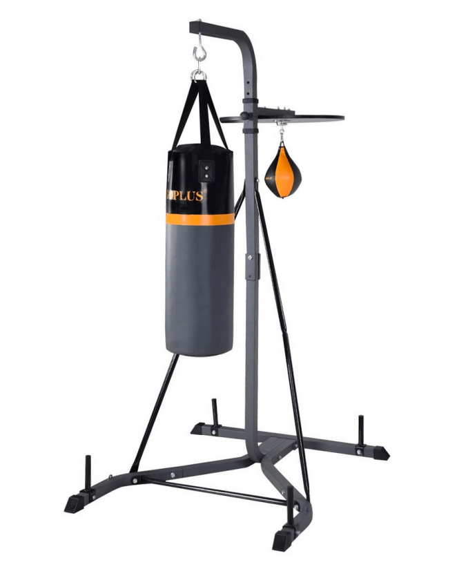 """tifier=""""B019MJYVUY"""" locale=""""US"""" title=""""Goplus Punching Bag w/Stand 2 in 1 Hanger Wall Bracket Hanging Boxing Frame with Heavy Bag & Speed Bag"""