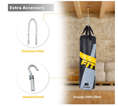 FITVEN Punching Bag for Man Women Kids accessories