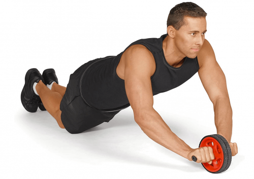 Val Exercise and Fitness Wheel with Easy Grip  3