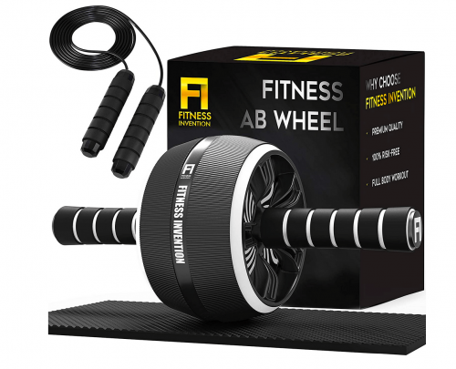 Fitness Invention Ab Roller Wheel