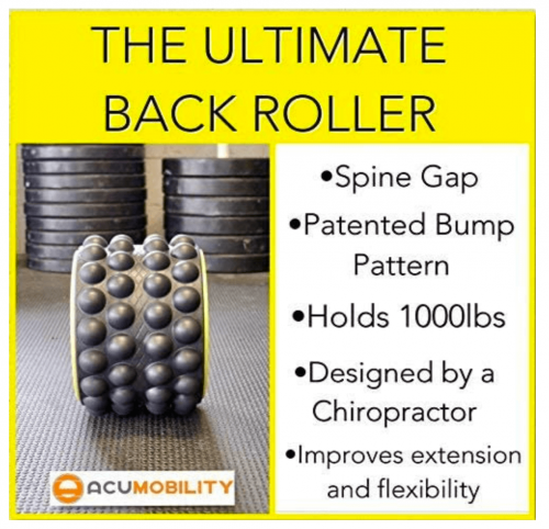 Acumobility The Ultimate Back Roller specs