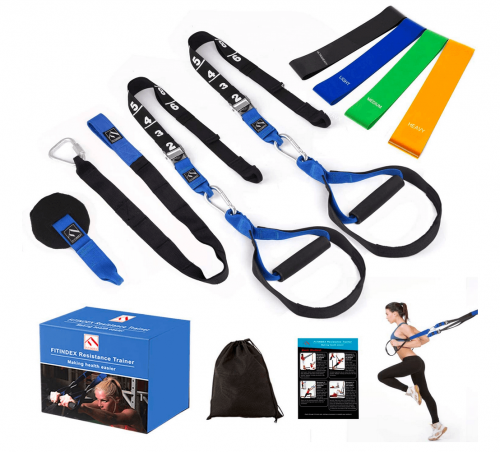 FITINDEX Bodyweight Resistance Trainer Kit 3