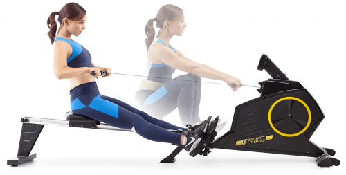 Circuit Fitness Deluxe Foldable Magnetic Rowing Machine detail