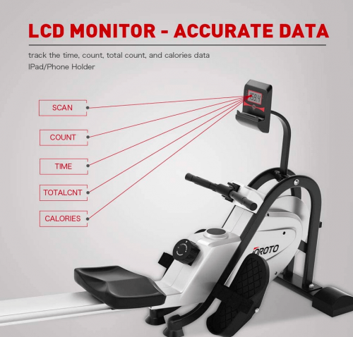 JOROTO Magnetic Rower Rowing Machine features