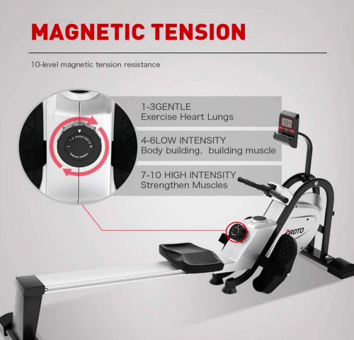 JOROTO Magnetic Rower Rowing Machine features 2