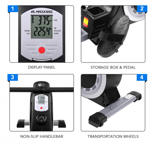 MaxKare Magnetic Rowing Machine features