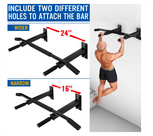 Yes4All Doorway Pull Up Bar / Chin Up Bar specs 2