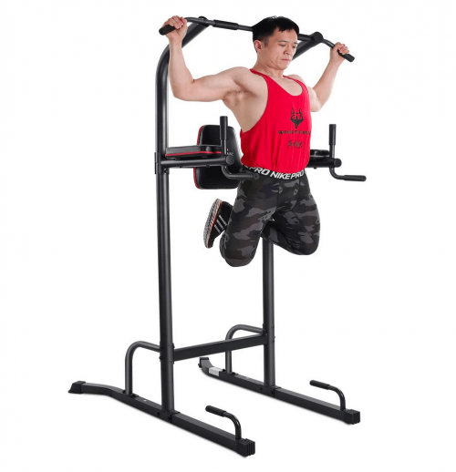 MaxKare Power Tower Pull Up Dip Station
