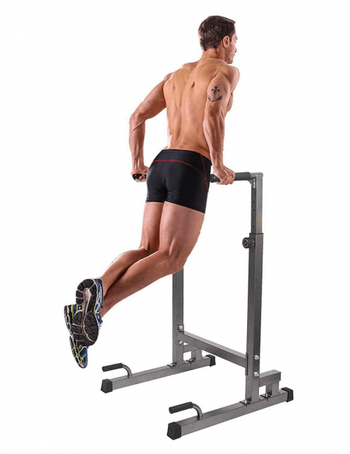 Dporticus Power Tower Workout Dip Station size display