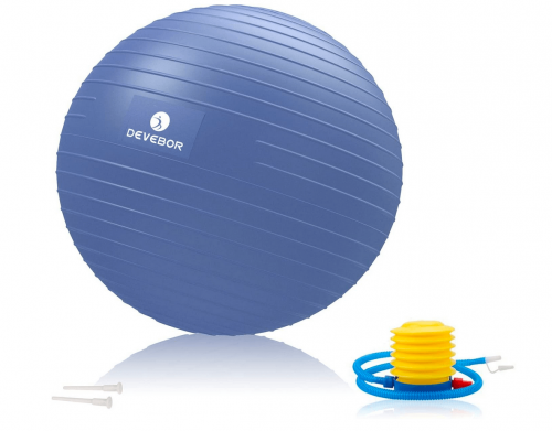 DEVEBOR Professional Grade Thick Exercise Ball accessories