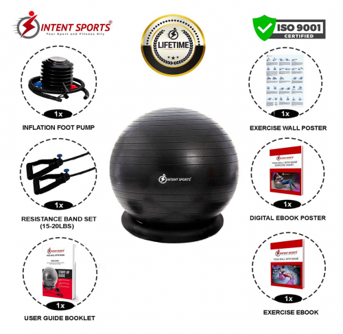 INTENT SPORTS Ball with Base details