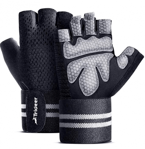 Trideer Ventilated Workout Gloves