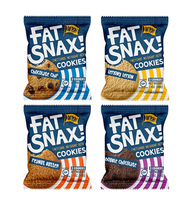 Fat Snax Cookies - Low Carb