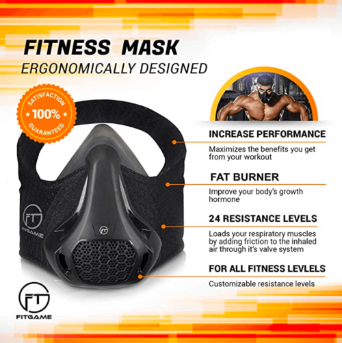 FITGAME Workout Mask specs
