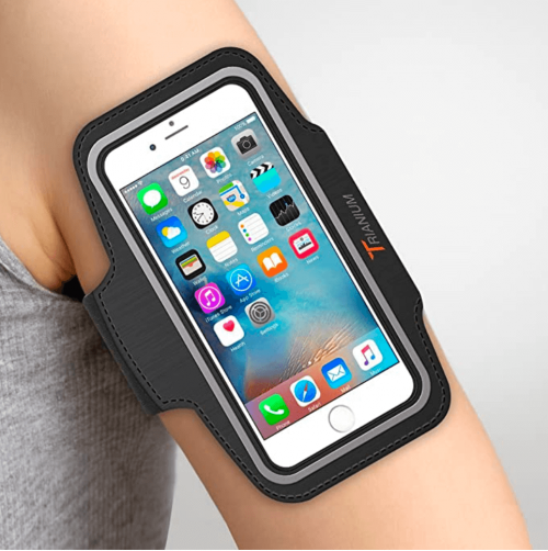 Trianium Armband, Water Resistant Large Cell Phone Armband