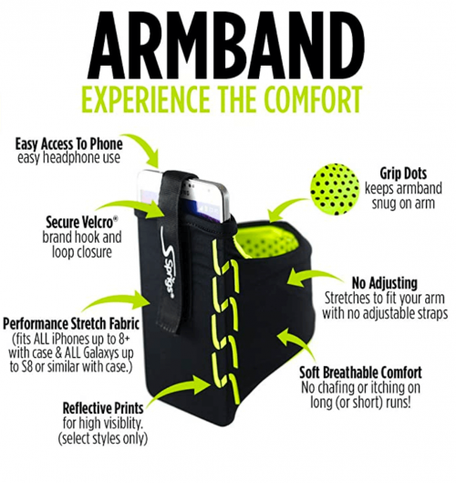 Sprigs Armband for iPhone 11/x/xr/8/7 Plus