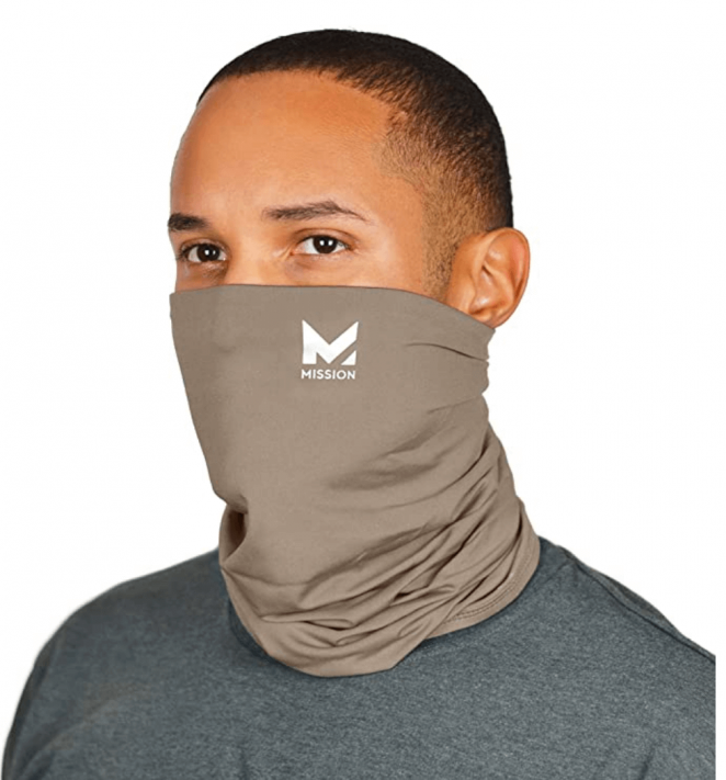 Mission Cooling Neck Gaiter Customize Your Coverage