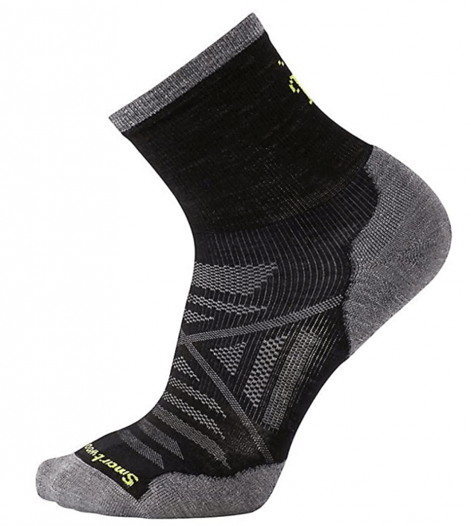 Smartwool PhD Run Cold Weather Mid Crew