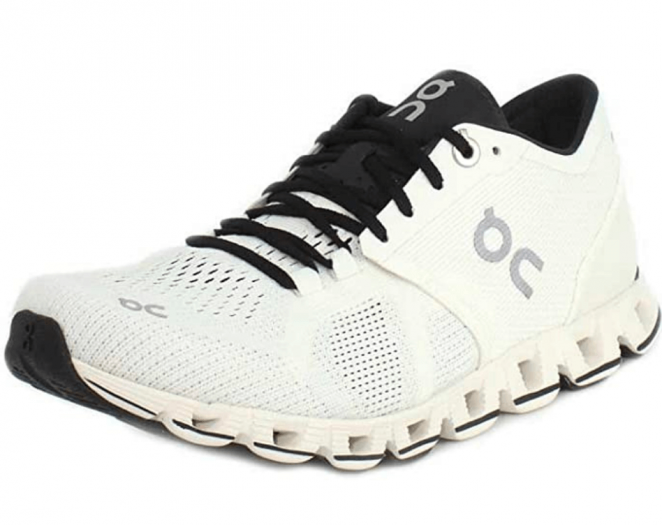 On Running Womens Cloud X Textile Synthetic Trainers