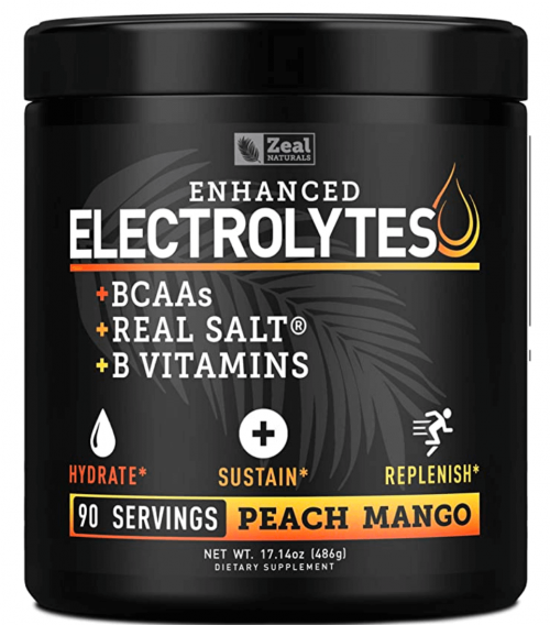 Zeal naturals Electrolyte Powder Recovery Drink
