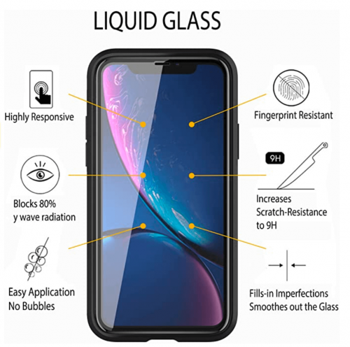 Liquid Glass Screen Protector for Up to 4 Devices