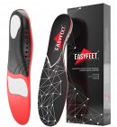 Easyfeet Plantar Fasciitis Arch Support Insoles for Men and Women Shoe Inserts