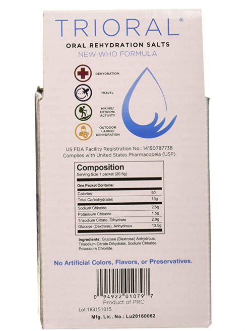 TRIORAL - Oral Rehydration Salts ORS