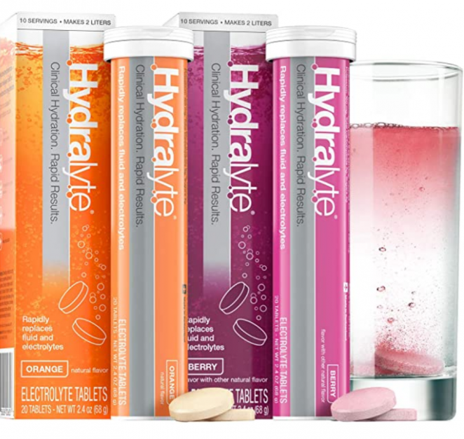 Hydralyte - Effervescent Electrolyte Tablets for On-The-Go Clinical Hydration