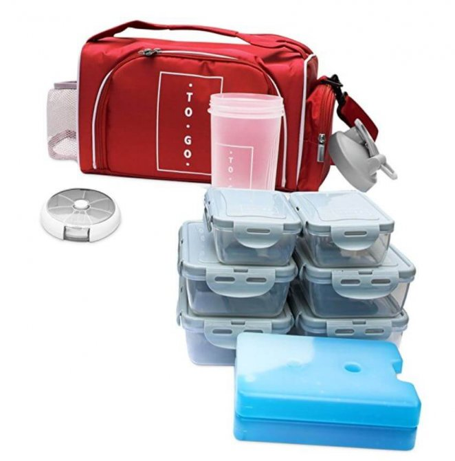 Meal Prep Bag by TO GO