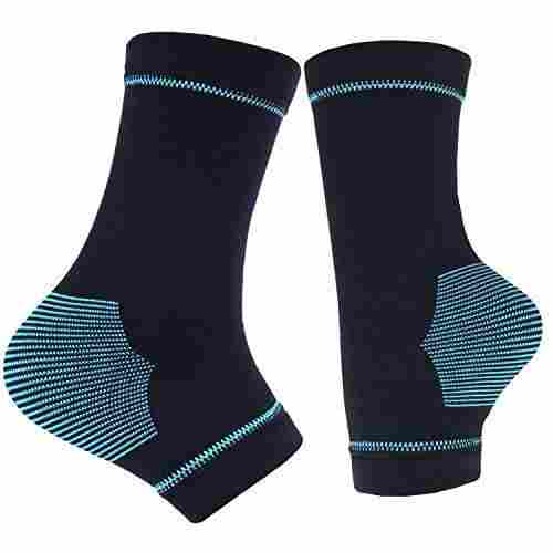 11. TONGXG Plantar Fasciitis Compression sleeves