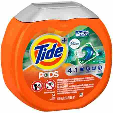 14. Tide Pods Plus Febreze