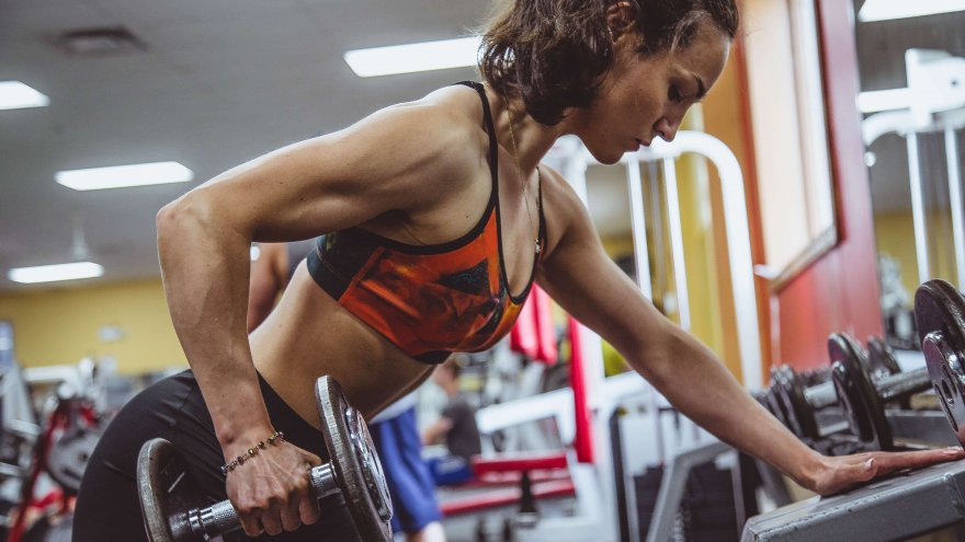 To increase strength at the gym, increase weight but decrease reps over a 6 week time frame.