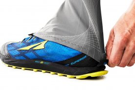 Altra Trail Gaiters help with long distance running.