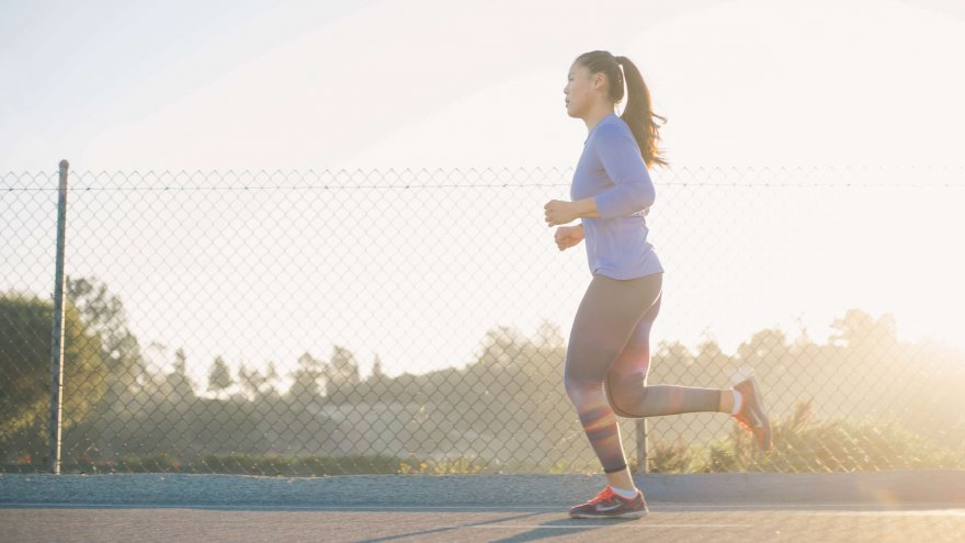 The best tips for slow runners include starting slow and finishing fast and running with faster runners.