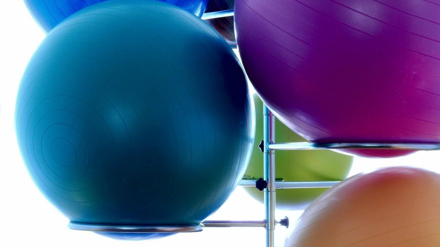 Almost 60 years after its invention, the balance ball is still popular.